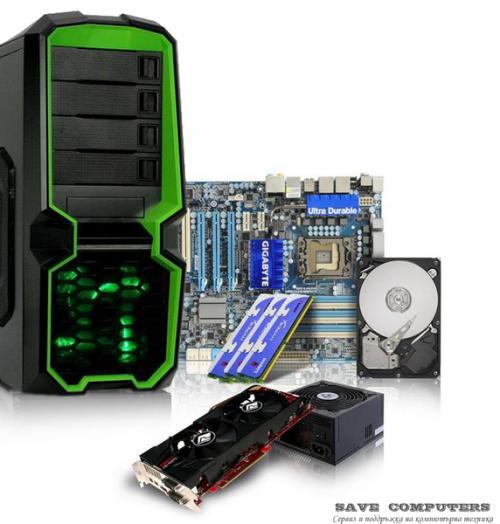 Настолни компютри и части
