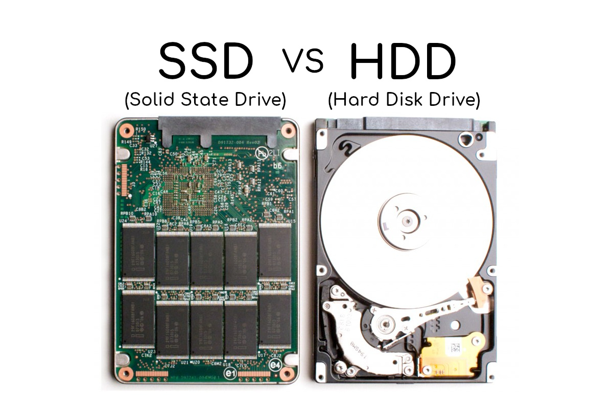 SSD HDD